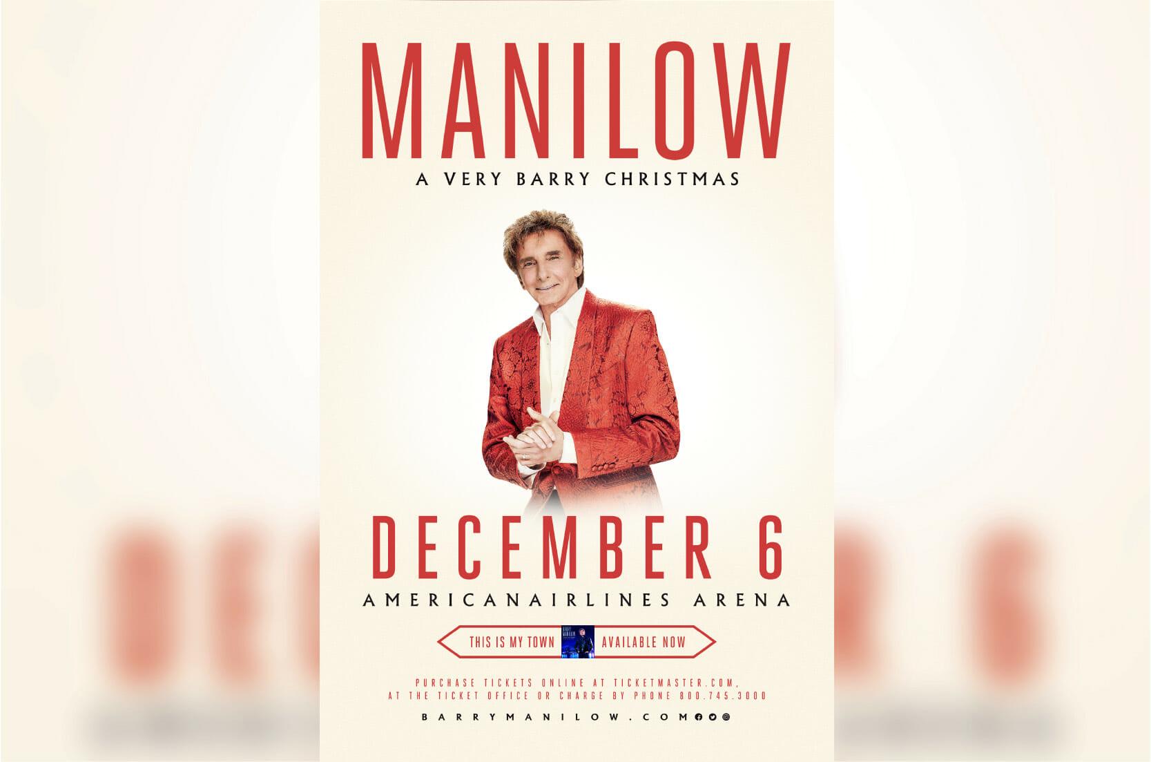 Music Legend Barry Manilow
