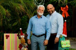 Dr. David Webb and Mister Brian Webb ( December )