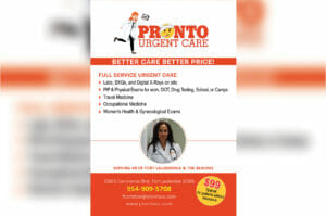 Get Your Urgent Care – Pronto!