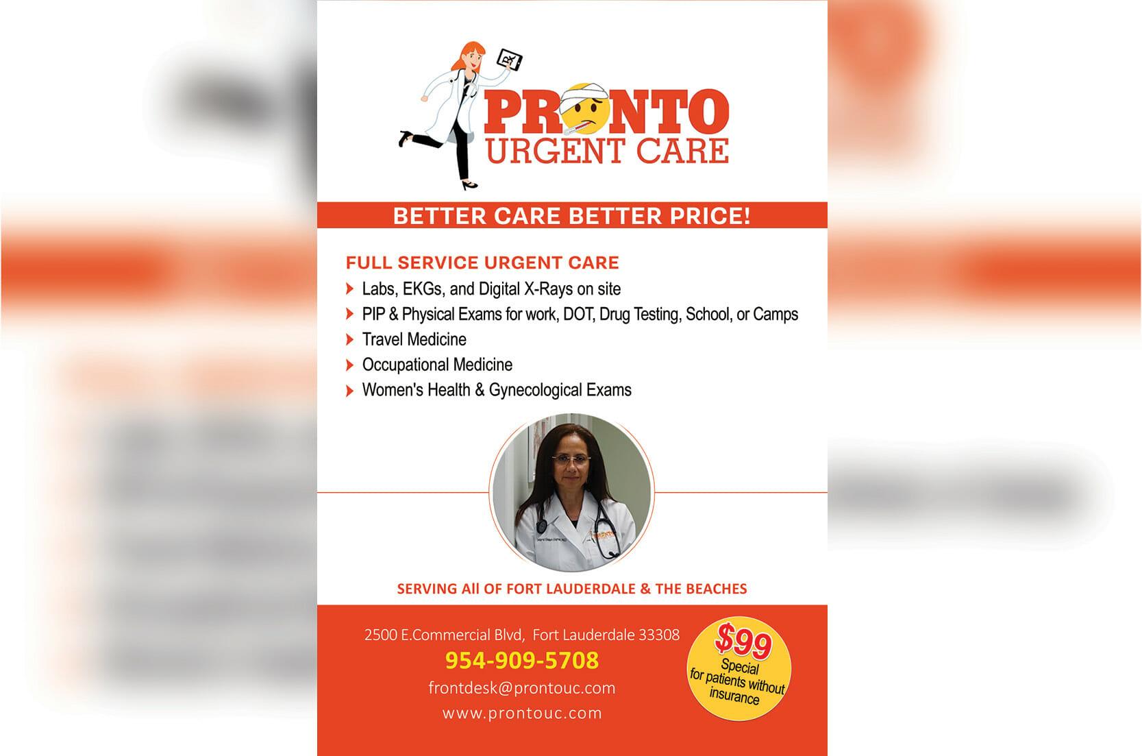 Get Your Urgent Care - Pronto!
