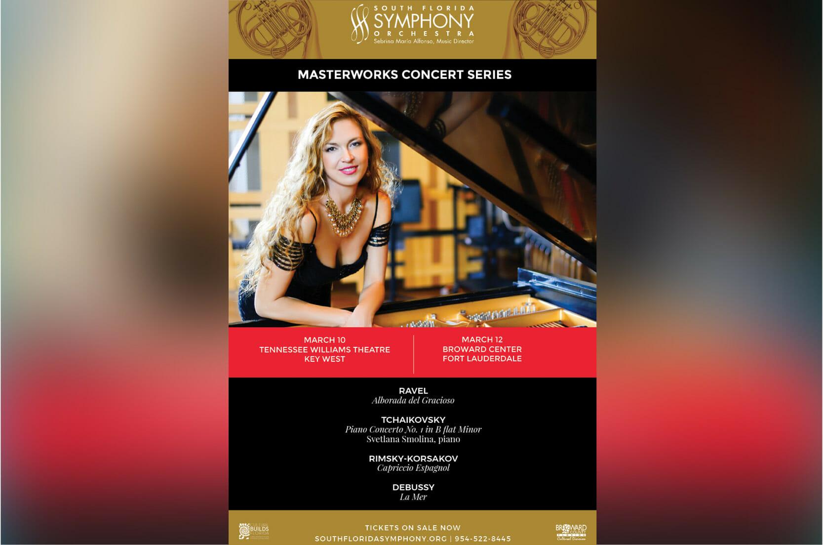 Svetlana Smolina's Return to the South Florida Symphony Orchestra