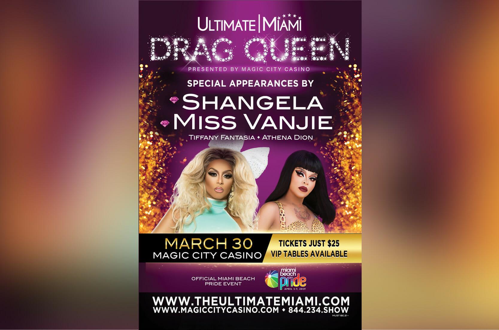 Ultimate Miami Drag Queen Headliner