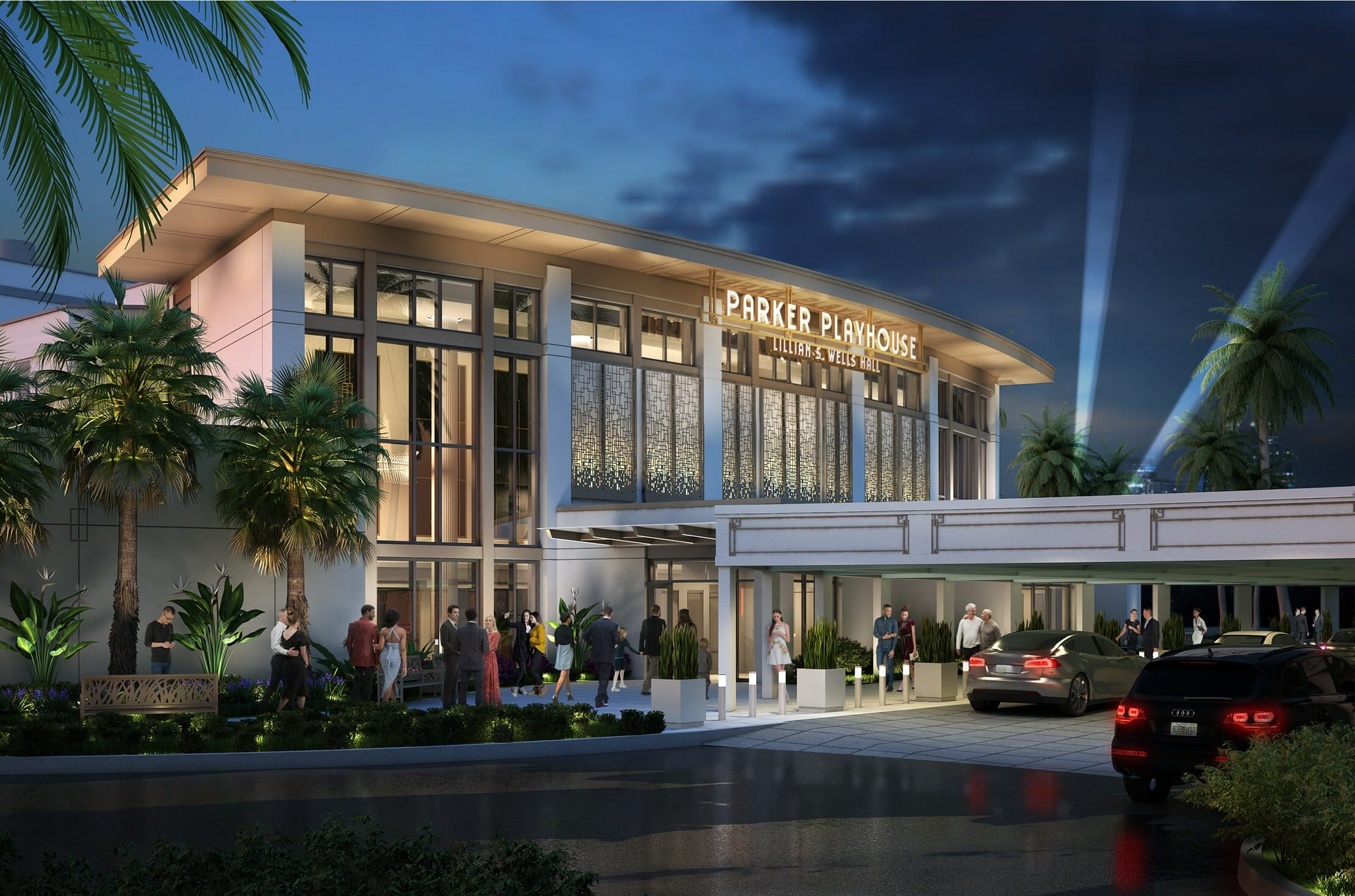 """Lillian S. Wells Foundation Donates $5 Million to Top Off the Broward Performing Arts Foundation's """"Campaign for the Parker"""""""
