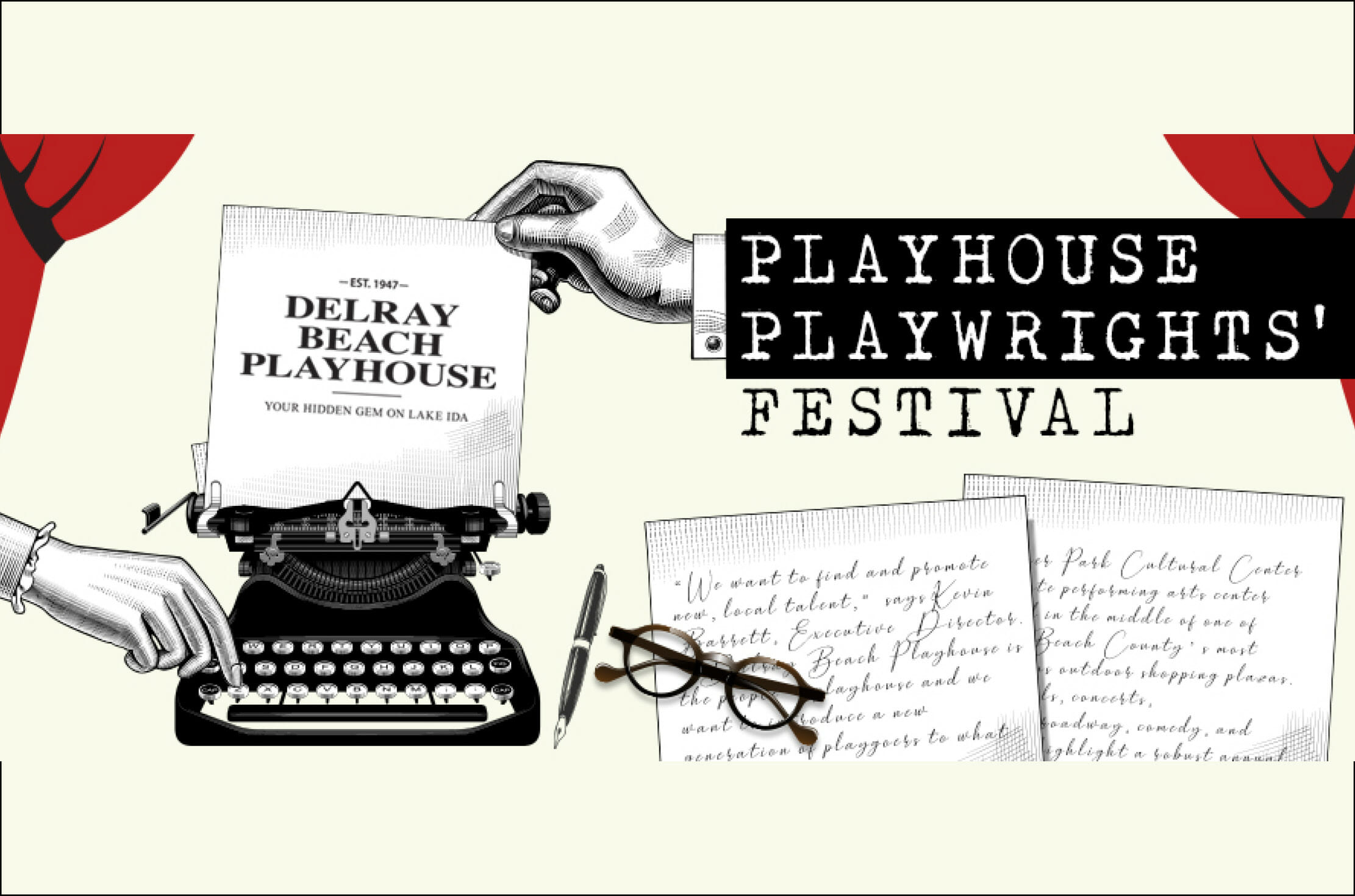 Delray Beach Playhouse Presents Its First Playwrights' Festival October 2019