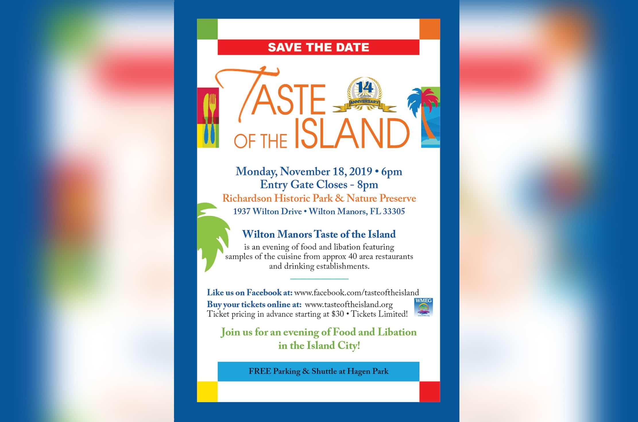 "Wilton Manors' ""Taste of the Island"""