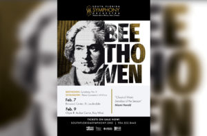 Celebrate Beethoven with Robyn Lamp and the South Florida Symphony Orchestra