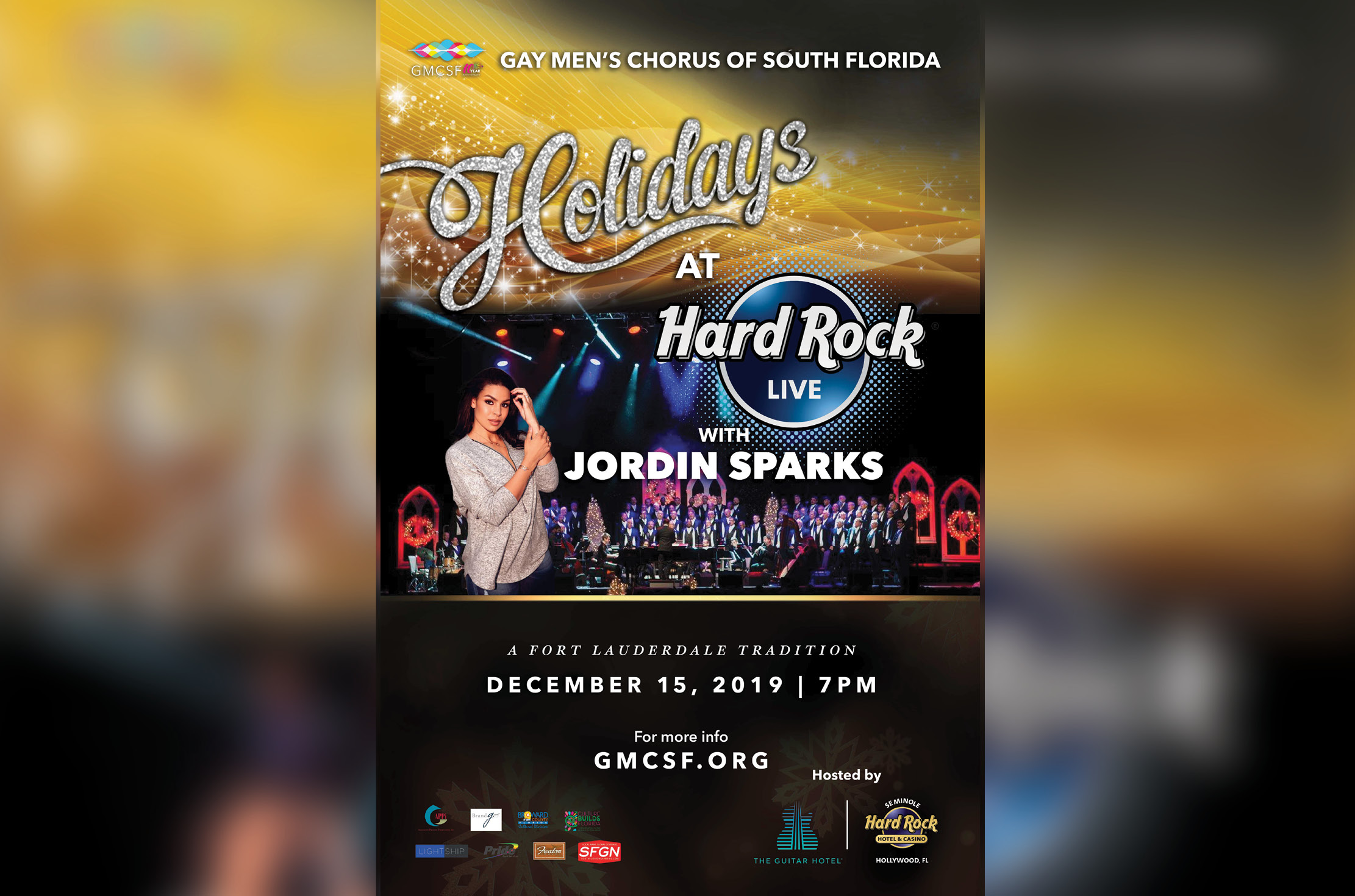 "Jordin Sparks Joins the Gay Men's Chorus of South Florida for ""Holidays at Hard Rock Live!"""