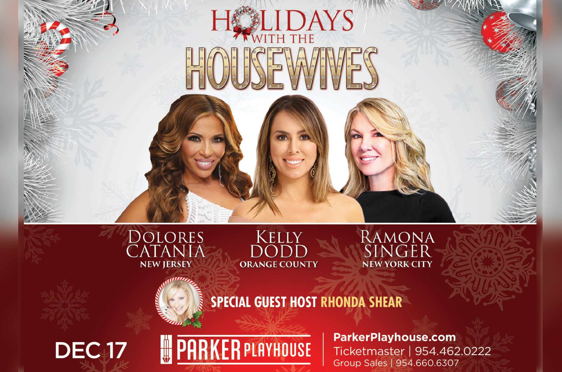 Spend the Holidays with Dolores Catania