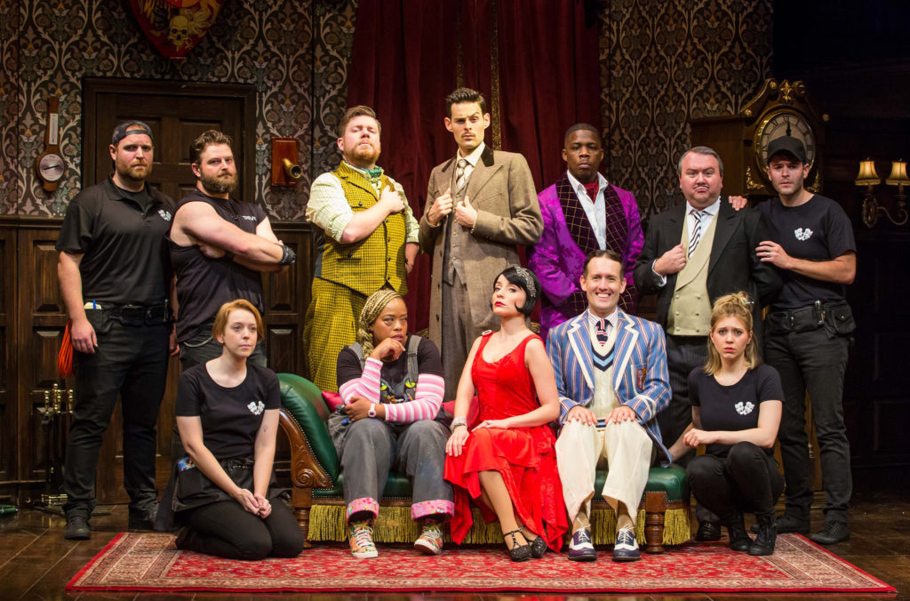THE PLAY THAT GOES WRONG-A-Photo by Jeremy Daniel