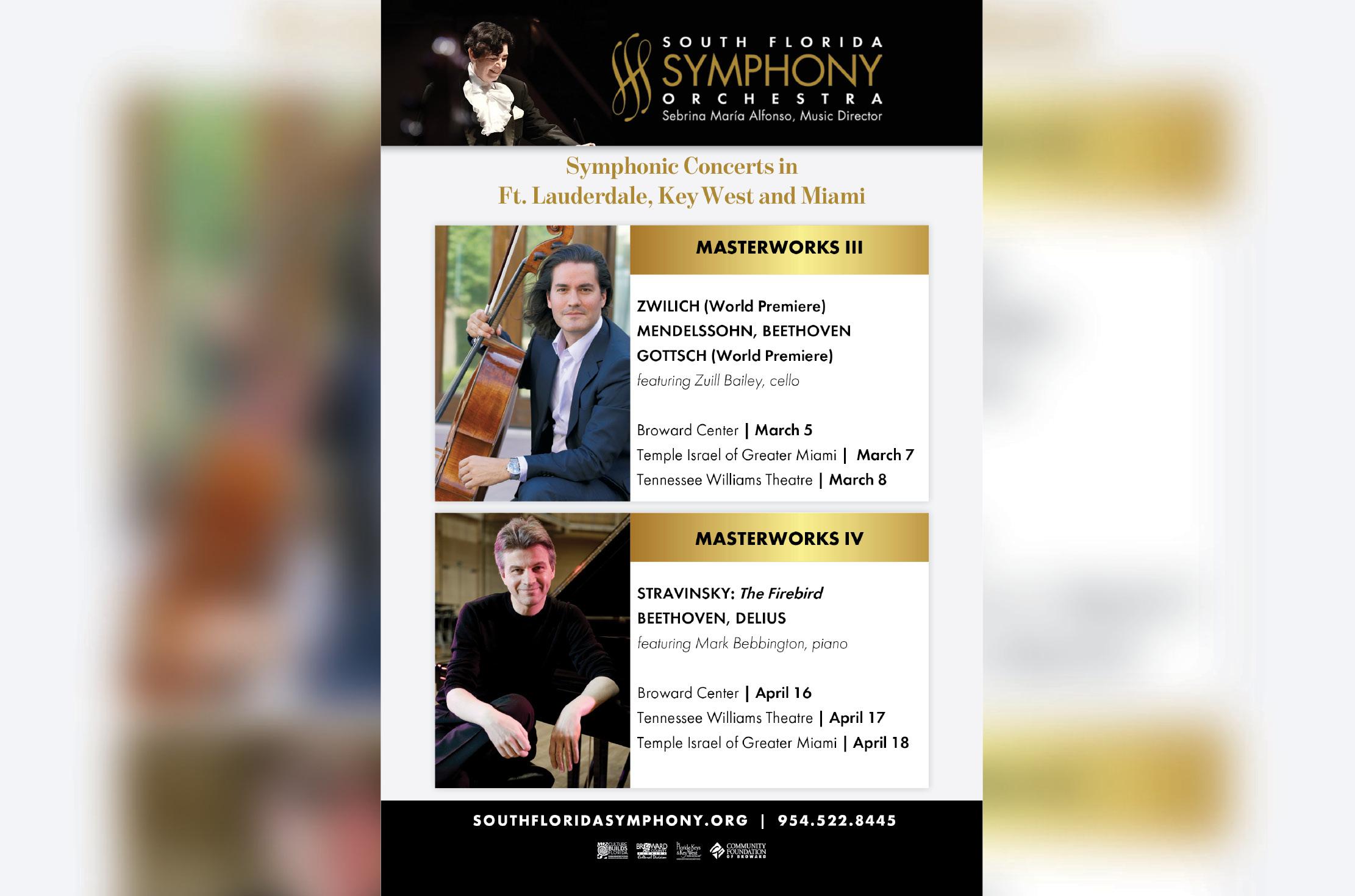 The South Florida Symphony Orchestra Welcomes Mark Bebbington