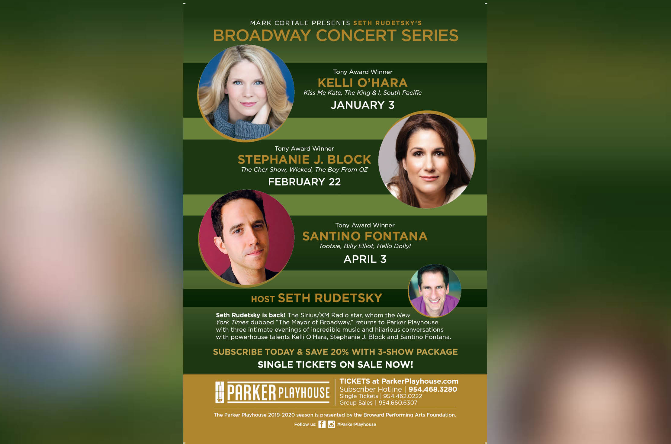 The Seth Rudetsky Broadway Concert Series