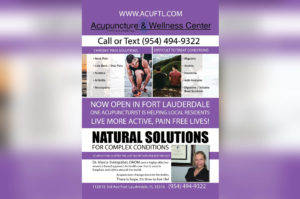 Pinpoint Accuracy with South Florida's Newest Acupuncturist