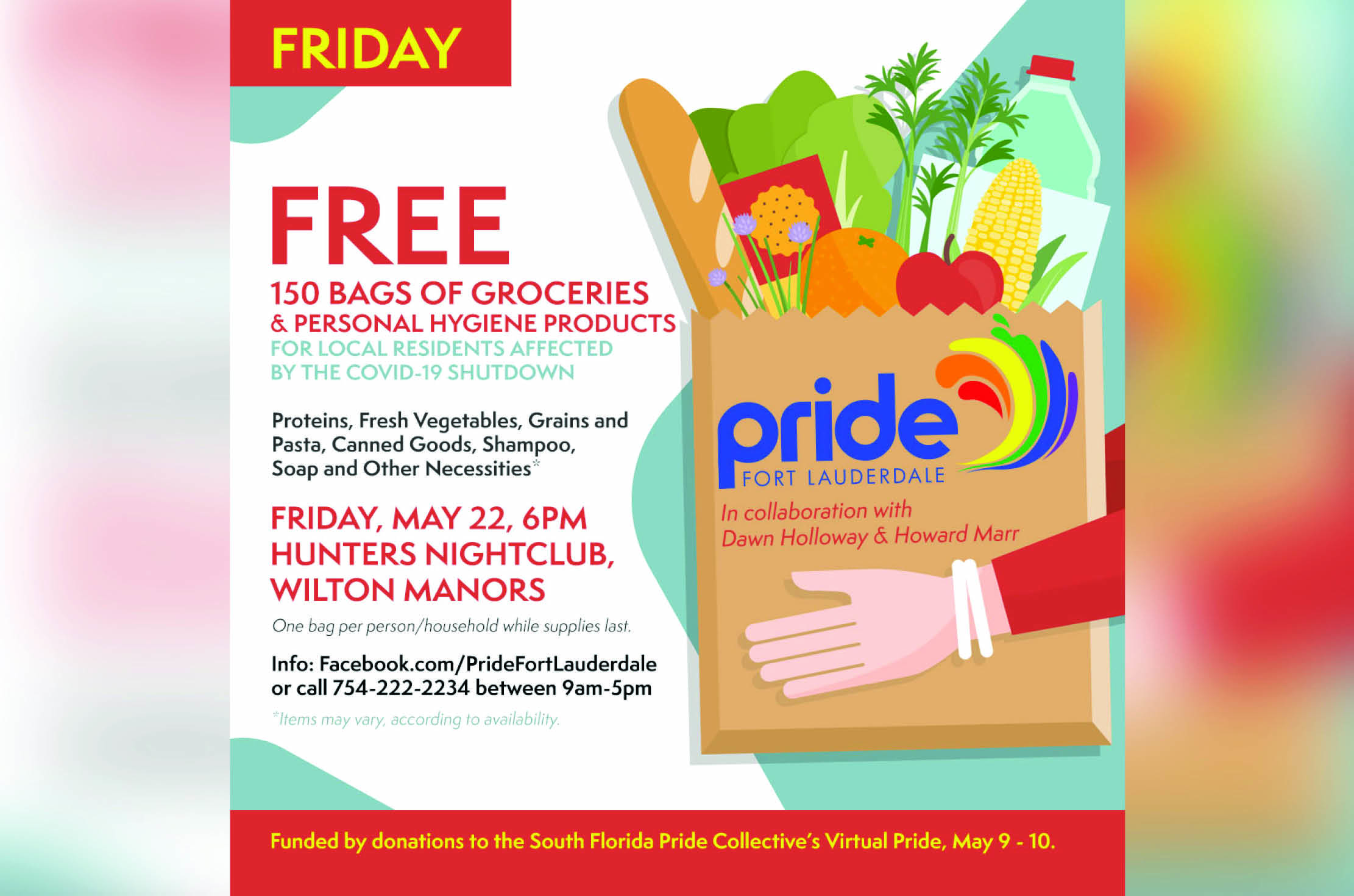 Pride Fort Lauderdale Grocery Giveaway