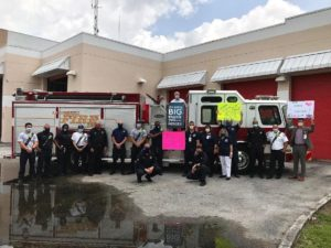 Florida Medical Center Salutes City of Lauderhill Fire Rescue