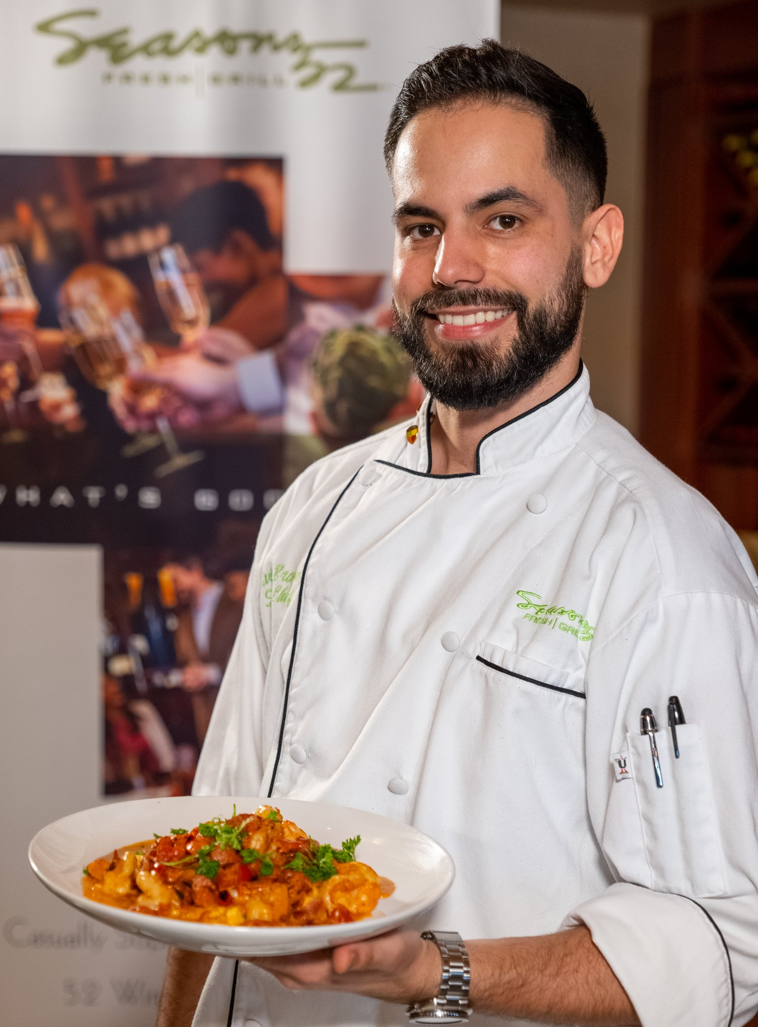 "Awaken Your Appetite with ""Cooking with the Galleria""  Featuring Seasons 52 Chef Elvis Bravo"