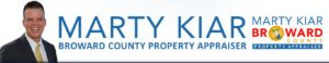 Dr. Steven chat with Property Appraiser Marty Kiar