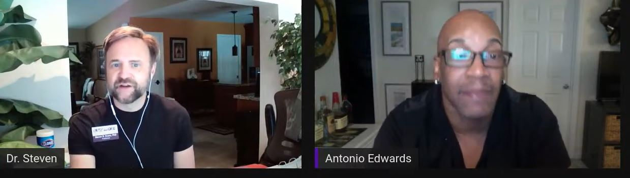 Dr Steven chats with the Antonio Edwards!