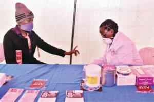 HIV Services & Rehabilitation Unite in Zambia