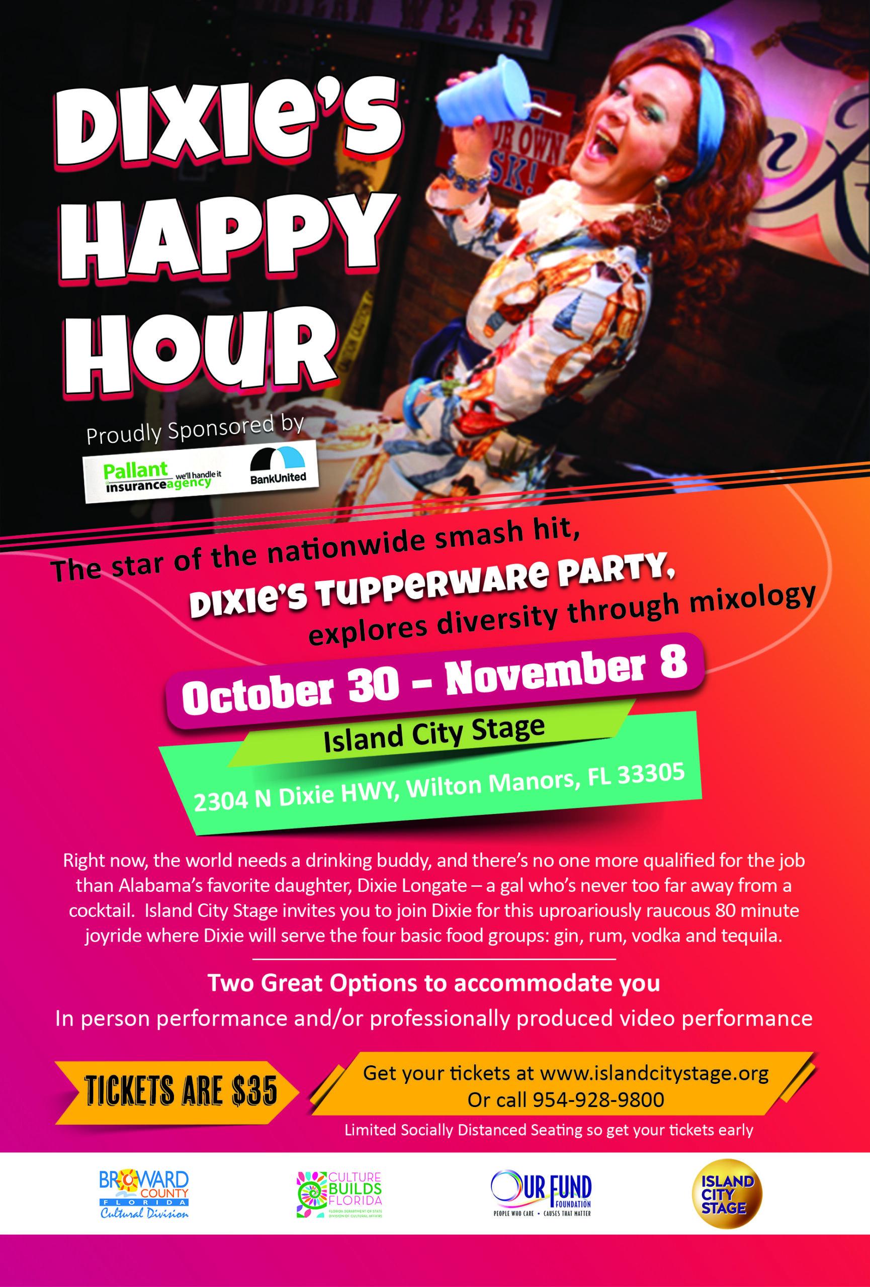 Dixie's Happy Hour, Tupperware Party