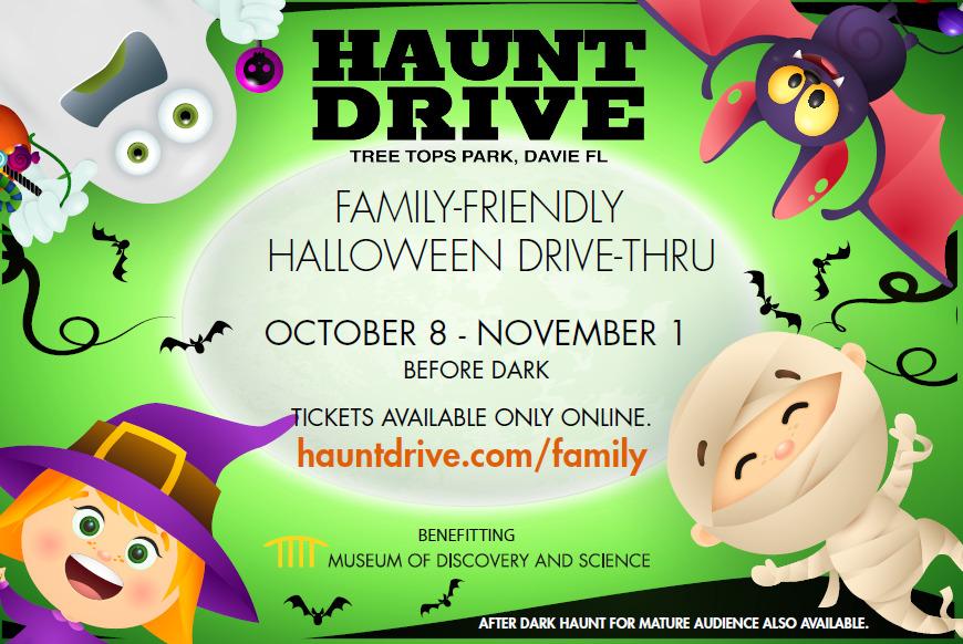 Family-Friendly Haunt Drive Experience