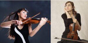 Livestream Concert: Huifang Chen and Ekaterina Nazarova, Violins