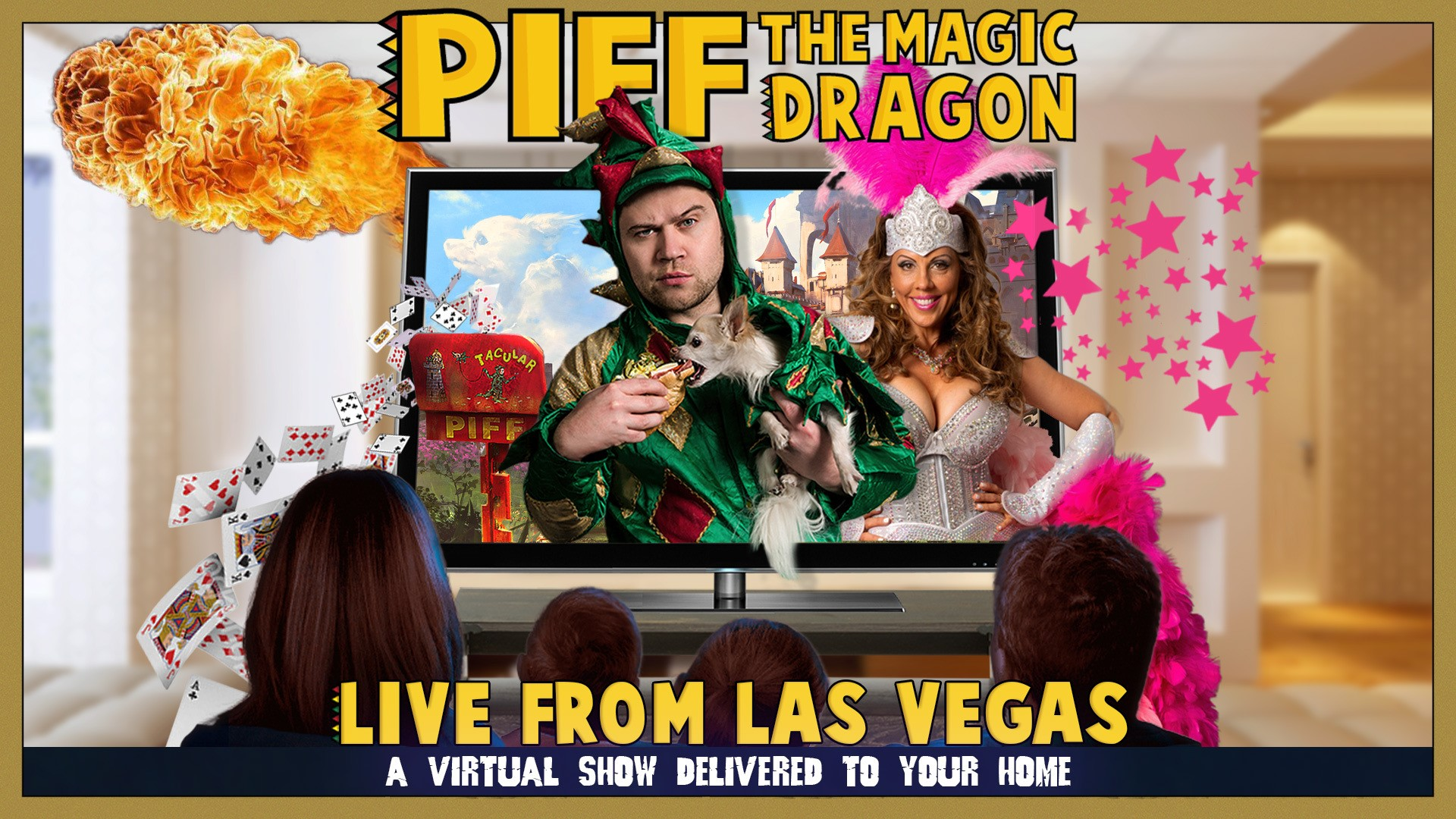 Piff the Magic Dragon, Live from Your Living Room