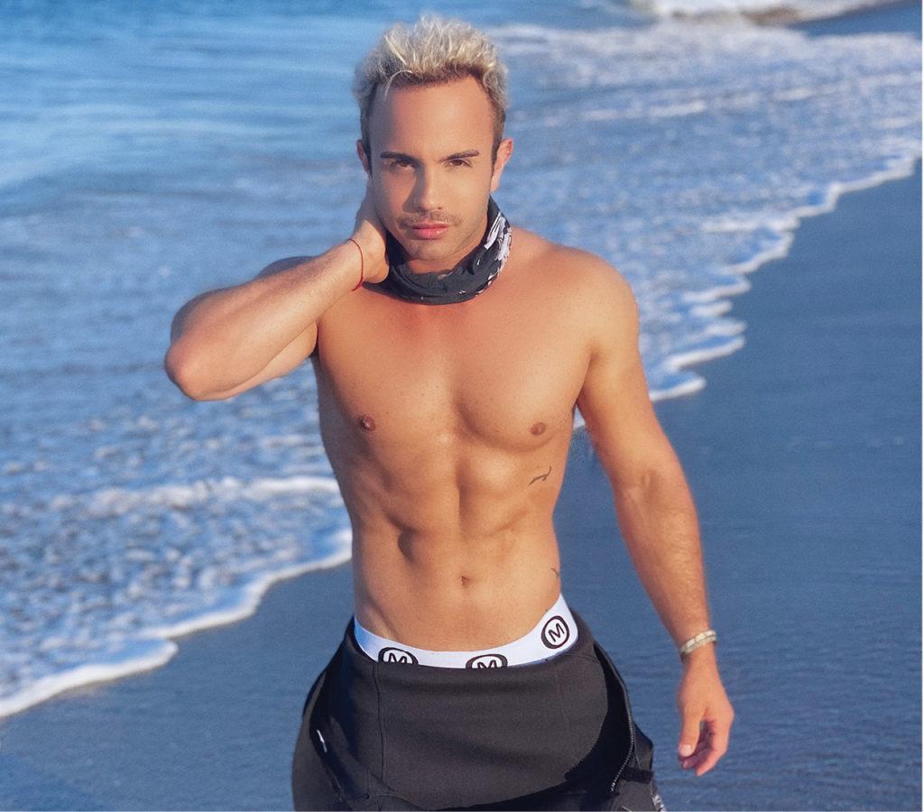 On Mekahel_Photo on the beach