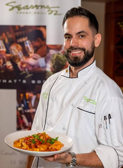 AHI Tuna is in the Spotlight with Seasons 52 Chef Elvis Bravo on the next Cooking with the Galleria Free Virtual Series Segment