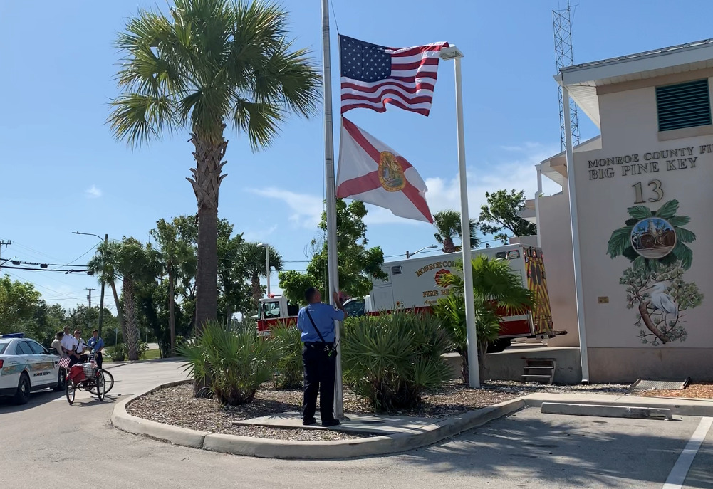 Monroe County Fire Rescue Remembers Firefighters who Lost their lives on Sept 11