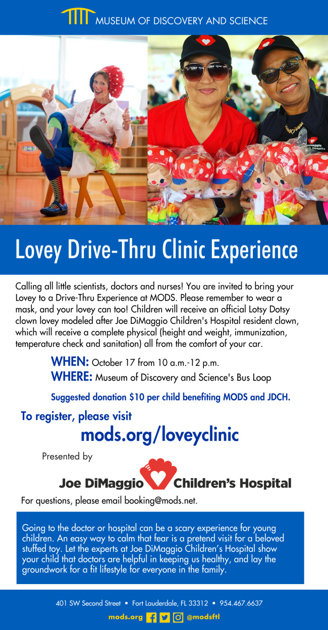 Register for the Free Lovey Drive-Thru Experience