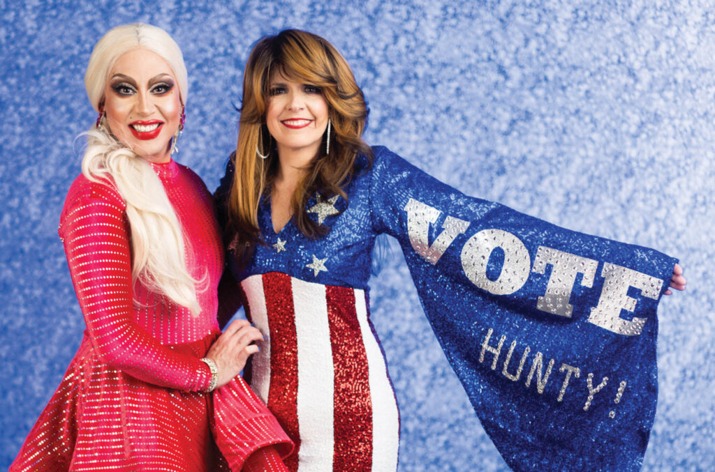 Drag Out the Vote_Event Photo