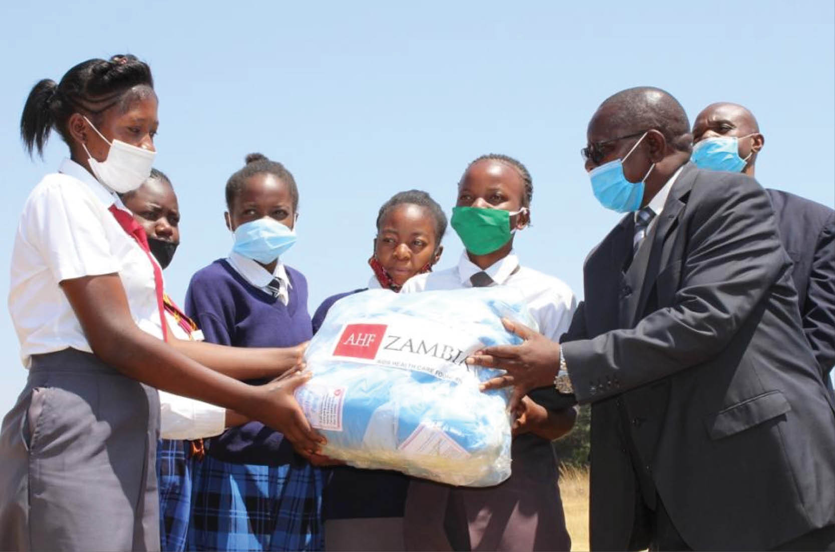 Reusable Sanitary Pads Keep Zambian Girls in School