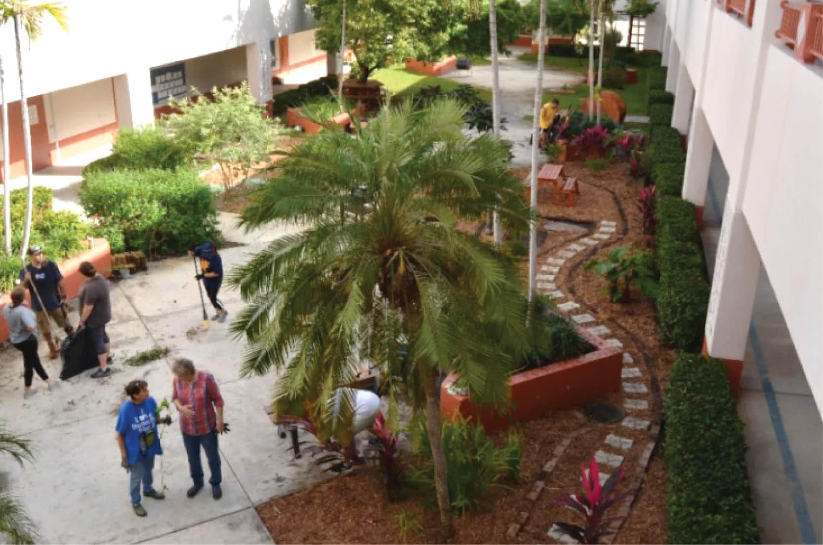 Wilton Manors Elementary School Butterfly Garden