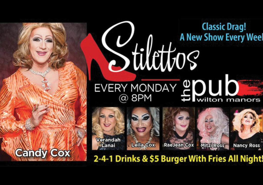 """""""CLASSIC DRAG! A New Show Every Week!"""" Photo Courtesy of Candy Cox."""